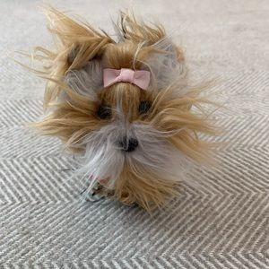 American Girl Dog Sugar with bow & name tag